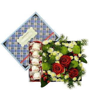 Сладкая жизнь +30% цветов с доставкой в Кемерово