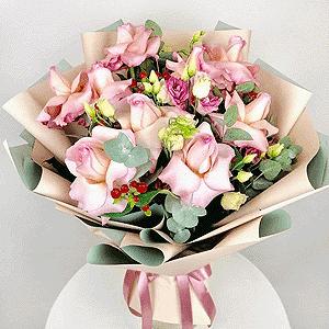 Воздушный поцелуй +30% цветов с доставкой в Кемерово