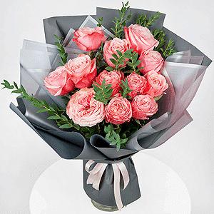 Бизнес-букет +30% цветов с доставкой в Кемерово