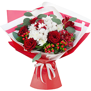 Восхищение +30% цветов с доставкой в Кемерово